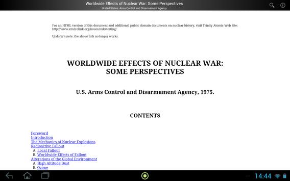 Effects of Nuclear War screenshot 2