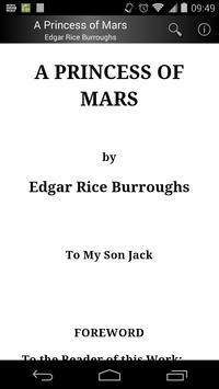 A Princess of Mars poster