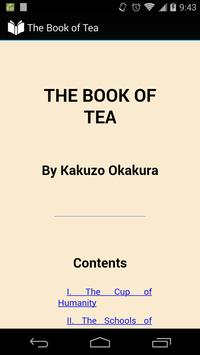 The Book of Tea poster