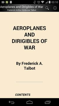 Aeroplanes and Dirigibles of War poster