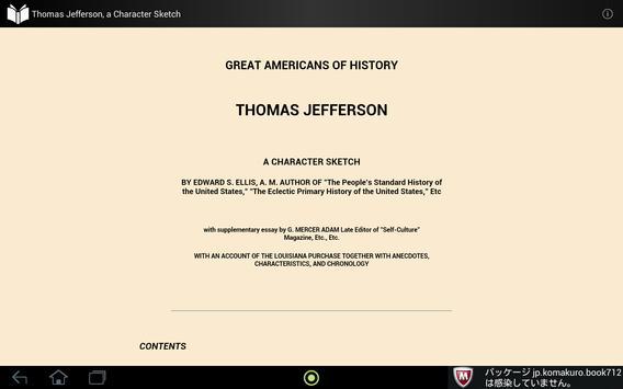 Thomas Jefferson apk screenshot