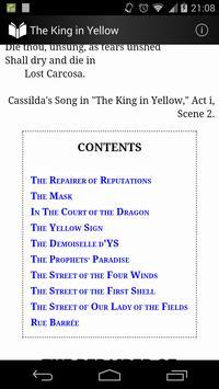 The King in Yellow apk screenshot