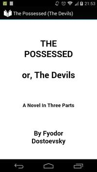 The Possessed: or, The Devils poster