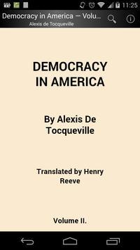 Democracy in America Volume 2 poster