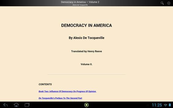Democracy in America Volume 2 screenshot 2