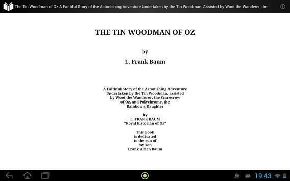 The Tin Woodman of Oz apk screenshot