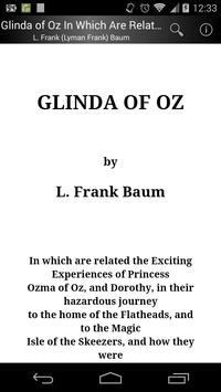 Glinda of Oz poster