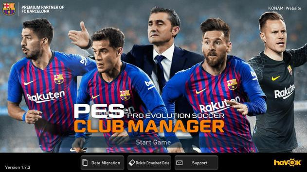 PES CLUB MANAGER apk 截圖