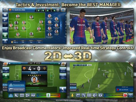 PES CLUB MANAGER captura de pantalla de la apk