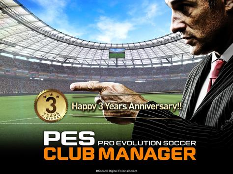PES CLUB MANAGER apk स्क्रीनशॉट