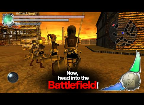 BattleField (Attack On Titan) apk screenshot