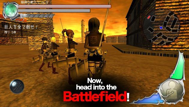 BattleField (Attack On Titan) screenshot 4
