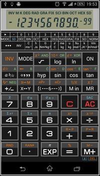 Scientific Calculator 995 الملصق