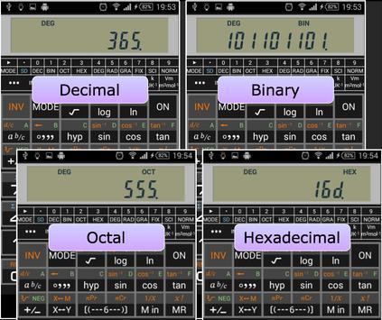 Scientific Calculator 995 تصوير الشاشة 1