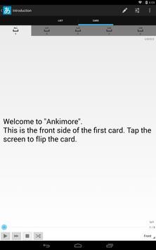 Ankimore Flashcard Lite screenshot 7