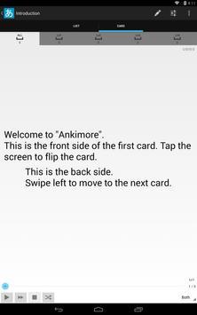 Ankimore Flashcard Lite screenshot 9