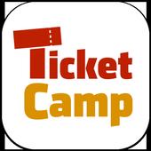 チケットキャンプ - 国内No.1 安心チケット売買アプリ icon