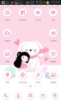 Bongja(doll) icon theme apk screenshot