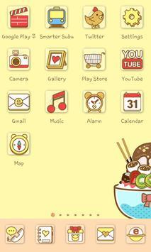 Odaeri icon theme apk screenshot
