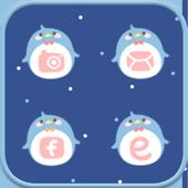 NavyPenguin icon Theme icon