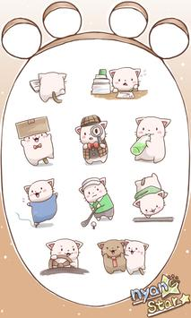 Nyan Star5 Emoticons-New poster