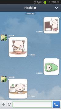 Nyan Star5 Emoticons-New apk screenshot
