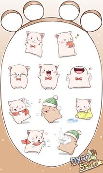 Nyan Star9 Emoticons-New poster