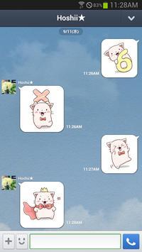 Nyan Star10 Emoticons-New apk screenshot