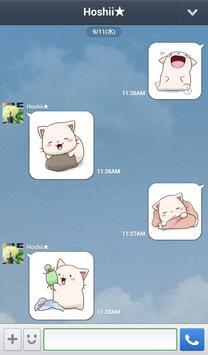Nyan Star16 이모티콘 apk screenshot