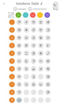 Katakana Memory Hint [English] apk screenshot