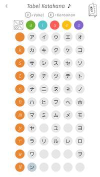Katakana Memory Hint [Indonesian] apk screenshot