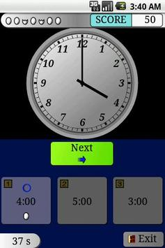Clock Study EX Trial (Kids) screenshot 2
