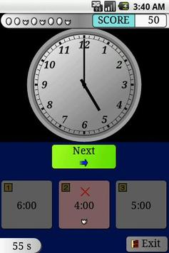 Clock Study EX Trial (Kids) apk screenshot