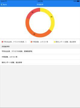 Orario for 同志社 apk screenshot