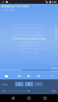 LRC Lyrics Player apk screenshot