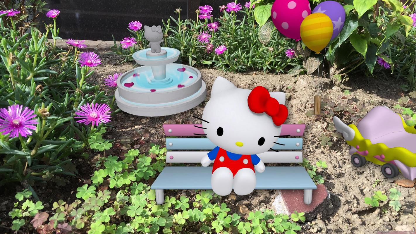 Hello Kitty AR effect for Android