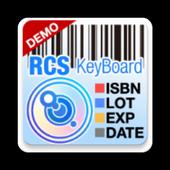 RCS Barcode/OCR Keyboard(Free) icon