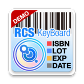RCS Barcode/OCR Keyboard(Free) icon