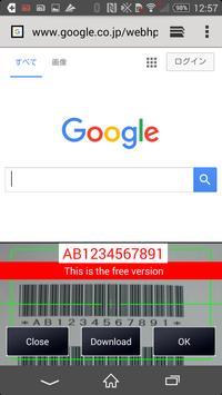 RCS Barcode/OCR Keyboard(Free) poster