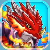 Dragon x Dragon -City Sim Game icon