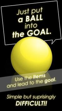 意外とハマる 物理パズルゲーム ボールをゴールへドーン 無料で簡単な脳トレやひまつぶし スクリーンショット 8