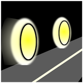 Bicycle light icon
