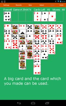 Freecell Solitaire Fun Cards screenshot 5