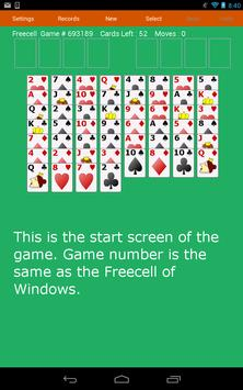 Freecell Solitaire Fun Cards poster