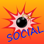 Never Bombs!! for Social icon