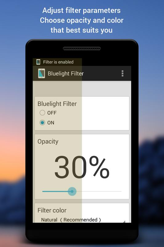 best android blue light filter
