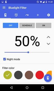 ブルーライト軽減フィルター ~ ブルーライトはアプリで対策! ポスター