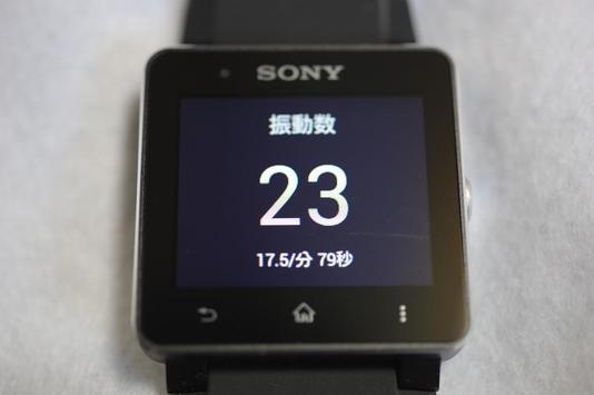 振動計 for SmartWatch 2 SW2 poster