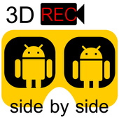 Side by side 3D Recorder icon