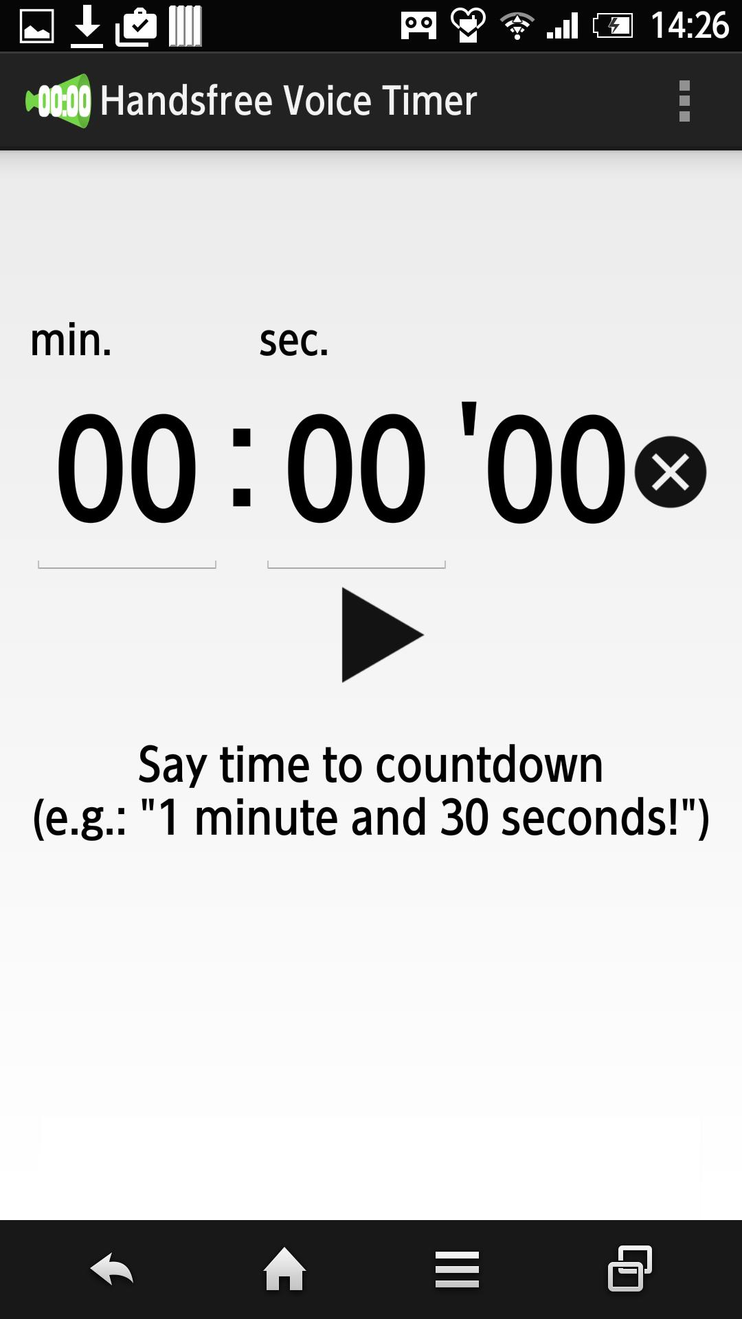 Handsfree Voice Timer for Android - APK Download
